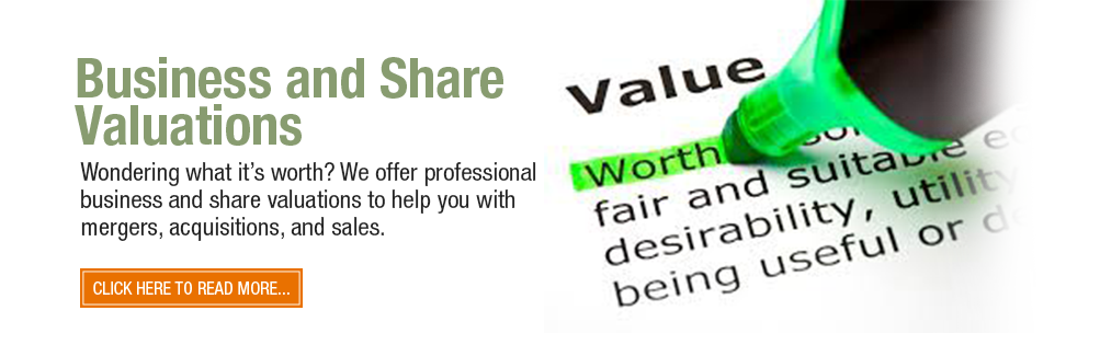Business and share valuations